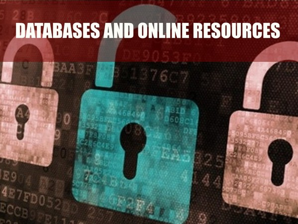 Databases and online resources